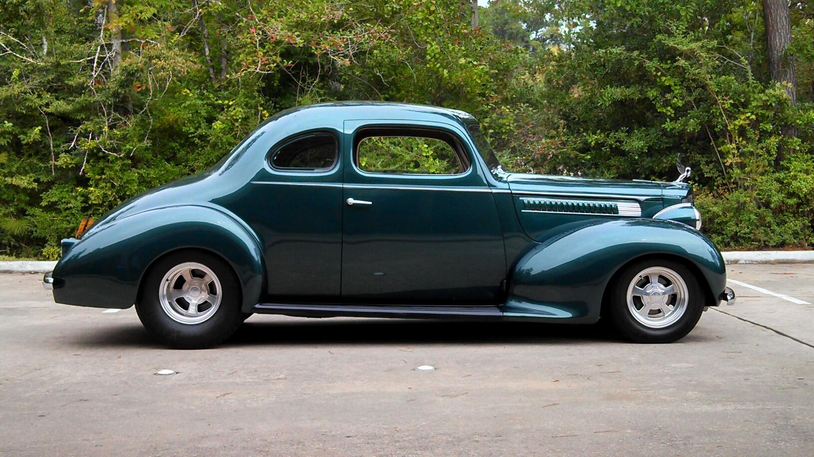 Ken Hutchens 1939 Packard 110 Coupe Packard Street Rod
