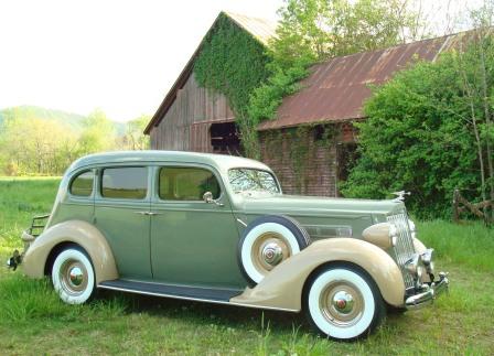 Dave W Stanley 1936 120b Sedan Packard Street Rod
